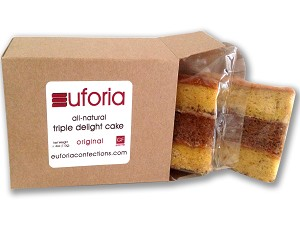 euforia Triple Delight Cake - 2-Pack
